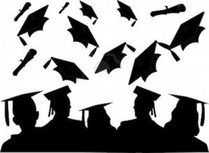 4747191-l-39-allegria-della-classe-di-laurea-in-quanto-il-loro-lancio-cappelli2